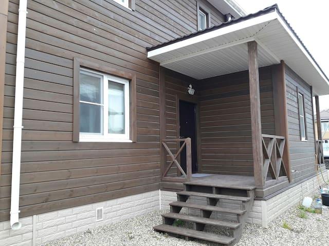 Уютная дача с баней на дровах и мангалом - Oboldino - House