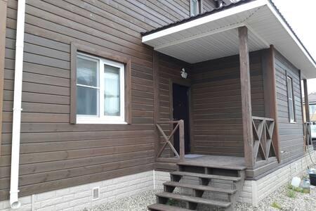 Уютная дача с баней на дровах и мангалом - Oboldino - Haus