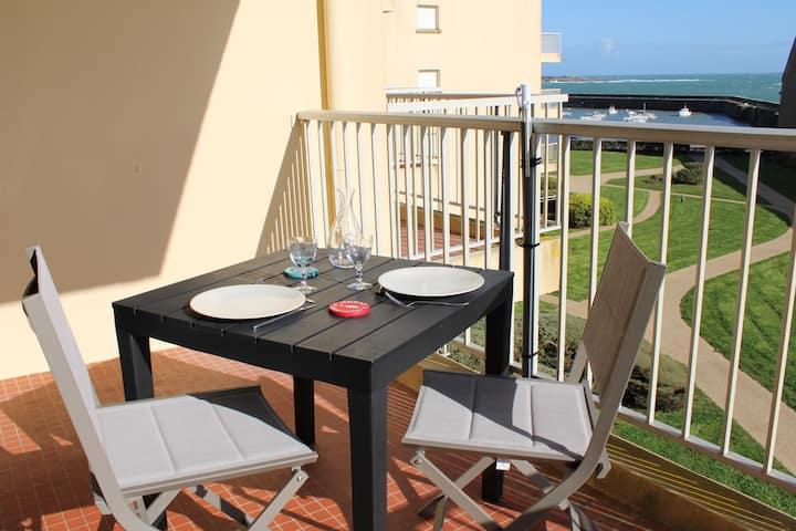 Les Terrasses de Port Maria - Studio Vue Mer