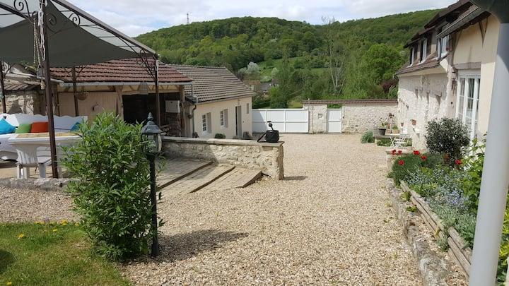 Gite campagnard à 15 mn de Giverny