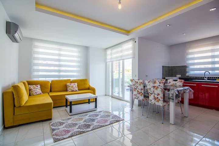 Идеальная квартира в Алании для семейного отдыха