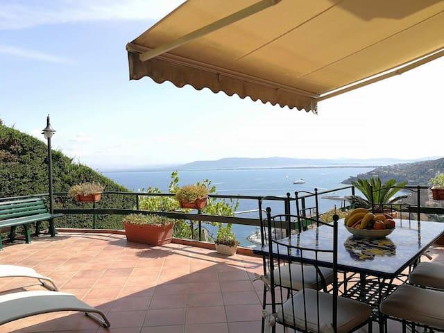 appartamento lusso due terrazzi, vista panoramica
