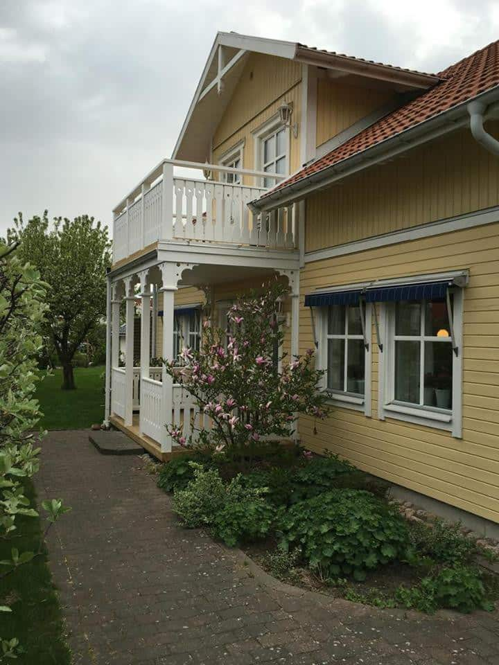 Villa med upp till 10 bäddar nära Göteborg
