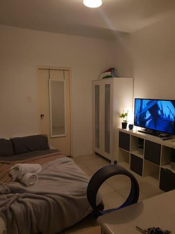 Living / bedroom studio space