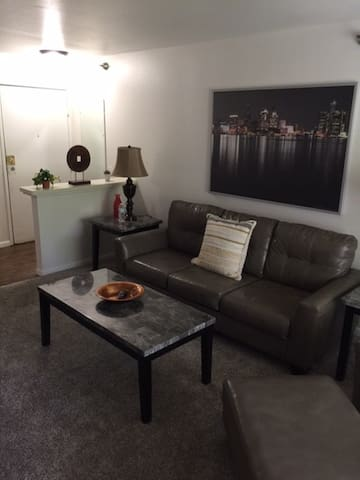 Spacious 1 BR 2 Bath Suite