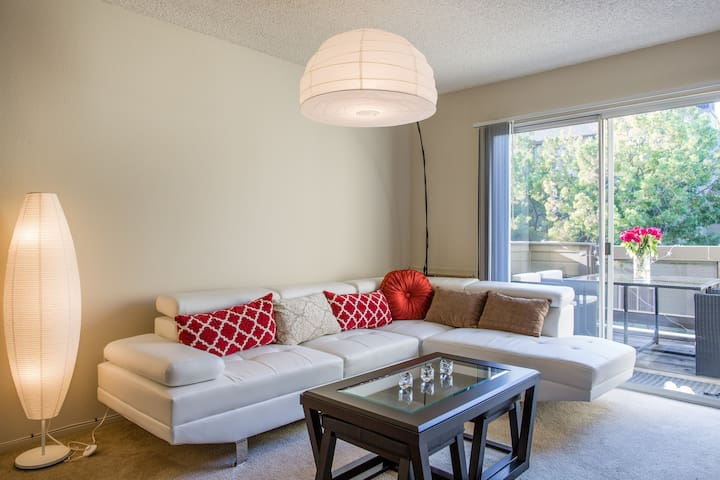 2BR/2BA by Stanford and Midtown - Palo Alto - Apartament