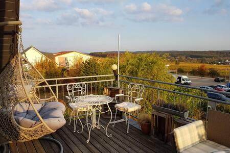 * Relaxen * Balkon * Badewanne * SAP *