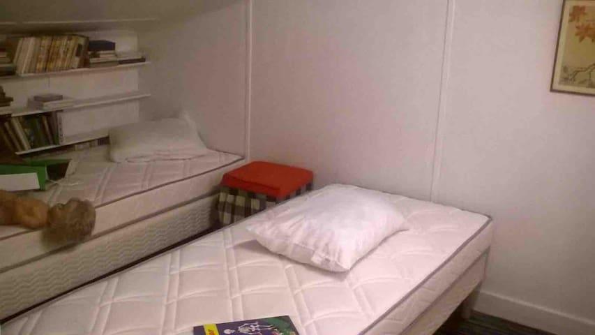 Petite chambre au premier