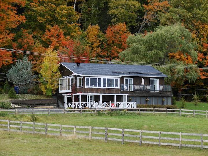 La maison au bord du Fleuve