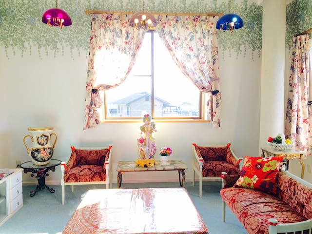 Ise power spot trip☆unique&magical room☆free wifi - Watarai-gun - Casa