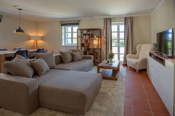 Ferienwohnung/App. für 2 Gäste mit 54m² in Dranske (94266)