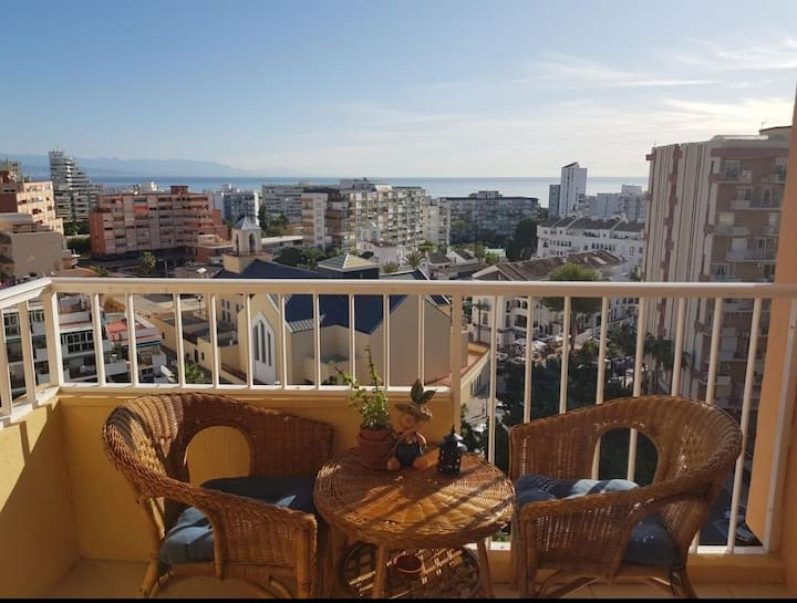 LA BRÚJULA Estudio con terraza y excelentes vistas