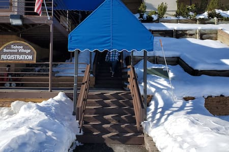 Loft for 8 ppl located at above 7000 ft
