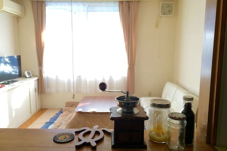 長期滞在割引ありの綺麗なテラスハウス。長野駅まで徒歩圏内! - Nagano