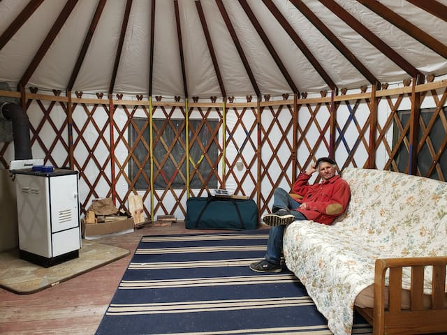 Glenwood Farm North Yurt- Polebridge Montana