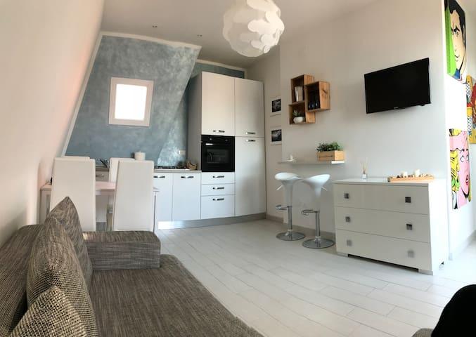 Casa moderna con terrazza panoramica al 12º piano