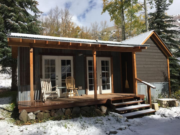 Backcountry Ski Cabin at Beaver Lake
