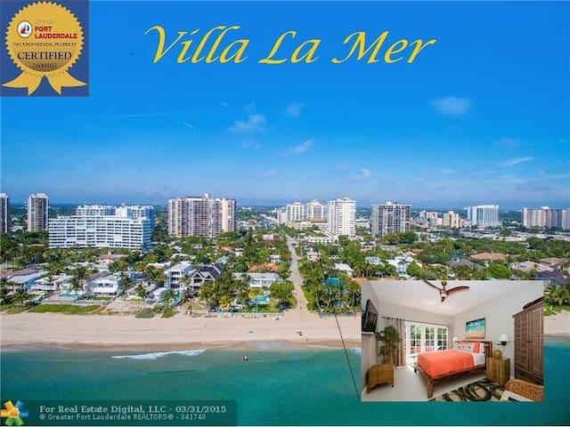 4Br LUXURY VILLA LA MER located on the Beach