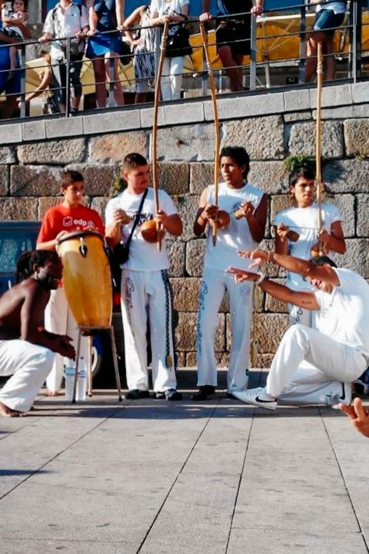 Rada de Capoeira na Ribeira