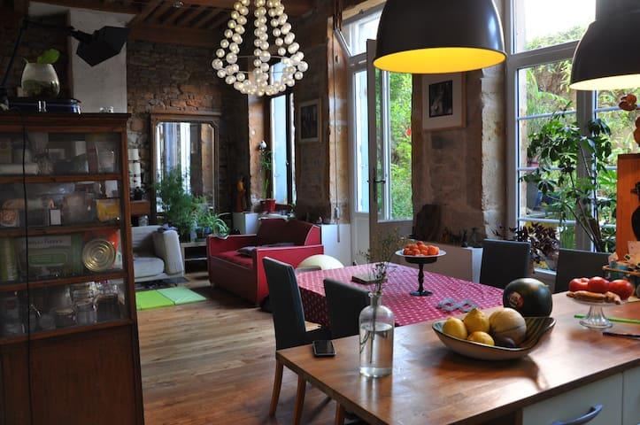 Chambre croix rousse - Lyon - Apartamento