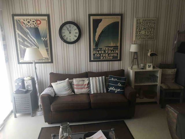 Charming, cosy apartment in Wissant at beach