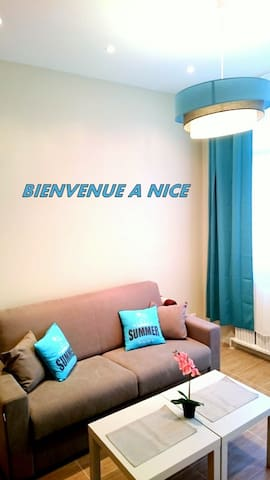 Heart of Nice, 5min to SEA! - Nice - Appartement