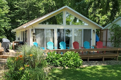 Van Auken Lake cottage rental