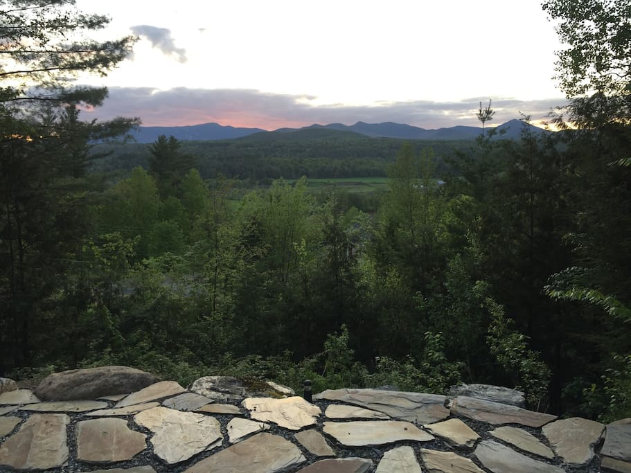 Views of Mount Mansfield