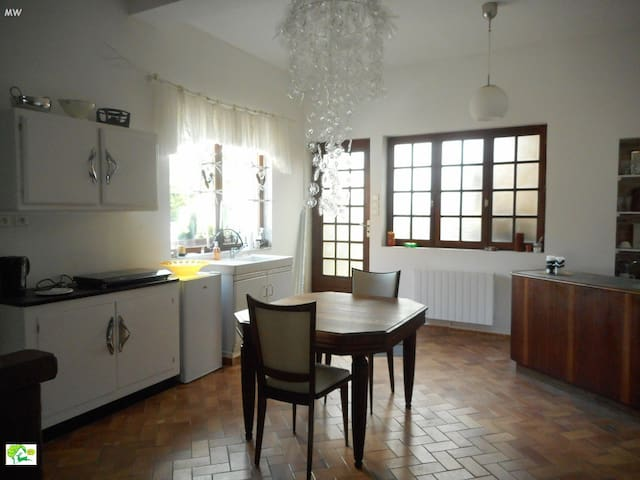 espace cuisine salle à manger