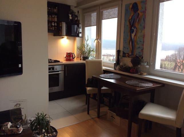 Mieszkanie na wakacje nad jeziorem - Olsztyn - Apartamento