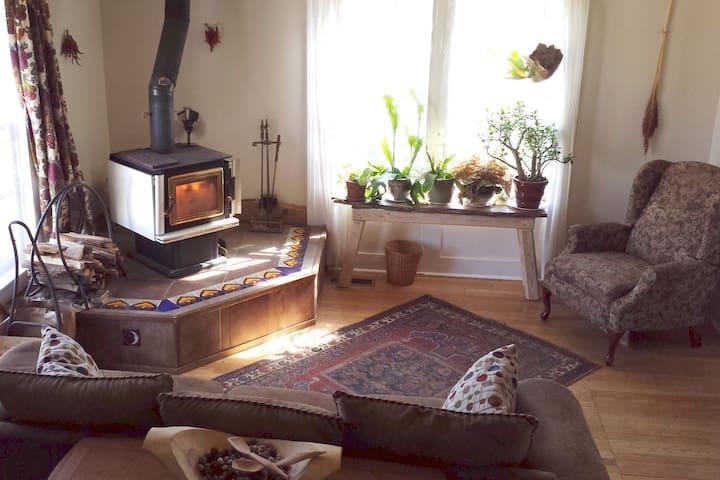 Sylvan Oasis Farm: Hickory Room - shady & private