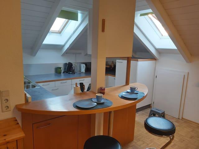 90m2 Dachwohnung in Hard am Bodensee