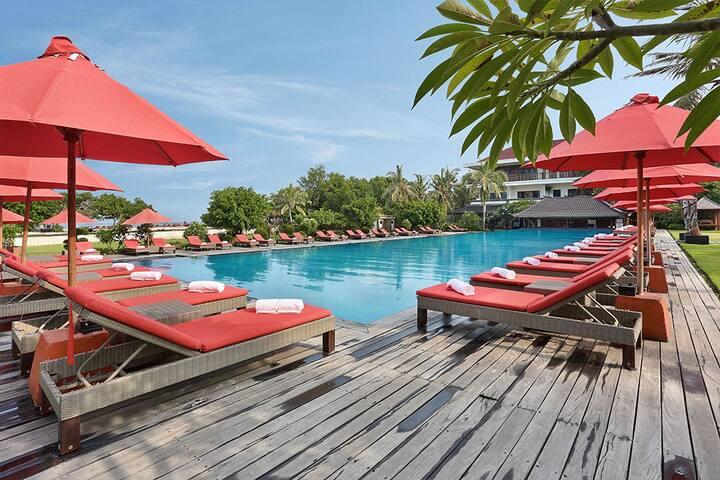 Elegant ocean view suite in Gil Trawangan - Pemenang - Apartament