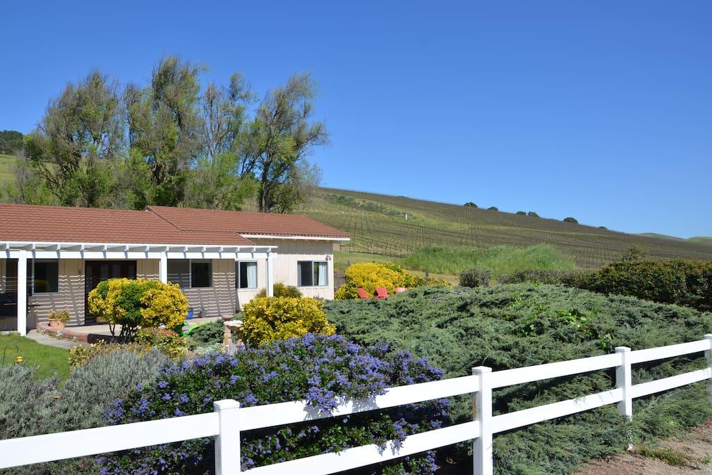 Flying v ranch suite degli ospiti in affitto a lompoc for Casa con 6 camere da letto in vendita vicino a me