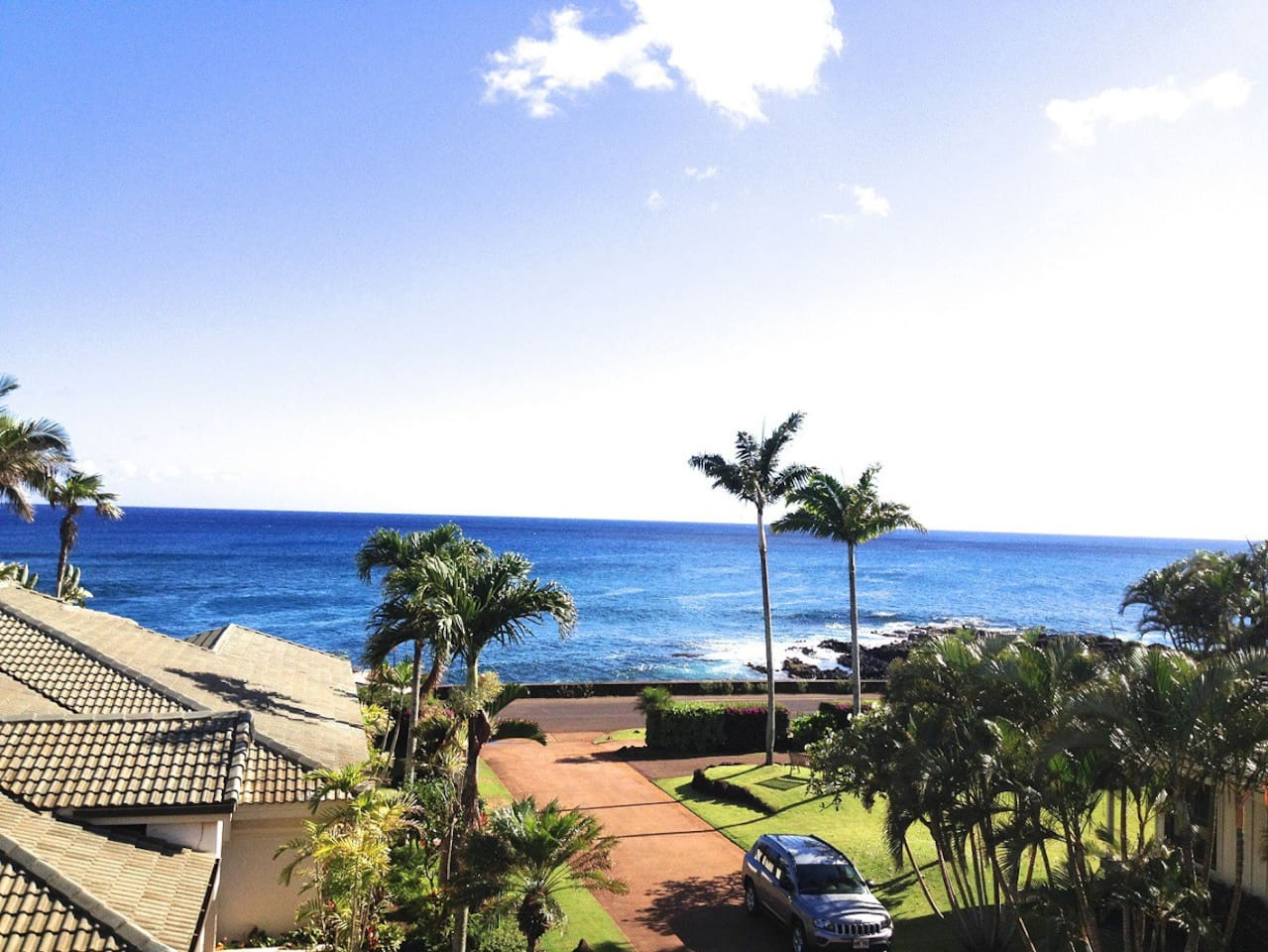View from the Master Bedroom Lanai