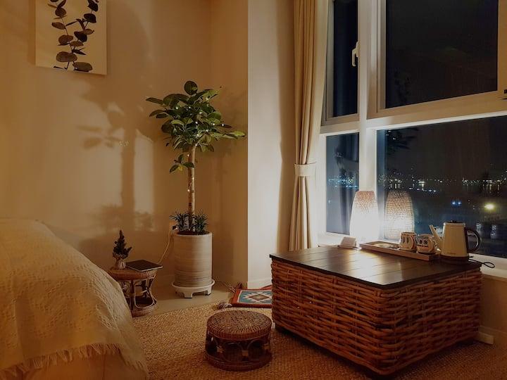 Oceanview apartment in Pusan port 부산항이 보이는 오션뷰 아파트