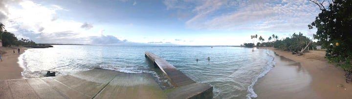 Beach Front Villa, 3min walk to pool, lake, parks.