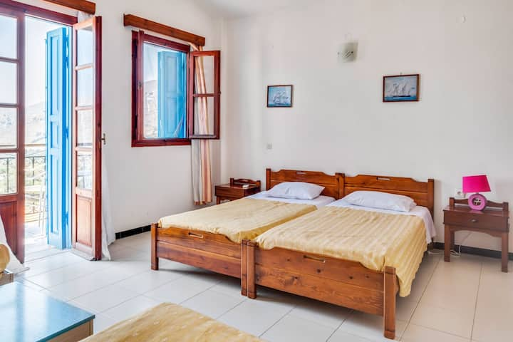 Attractive Holiday Home in Symi Island with Balcony