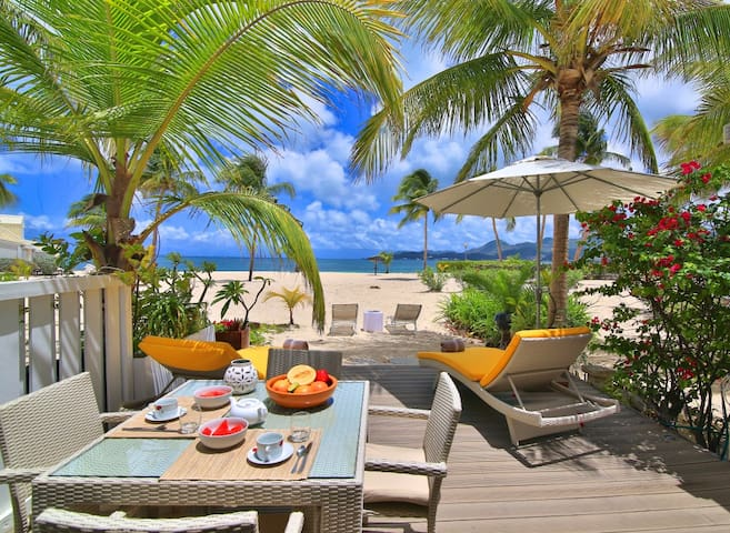 TI SABLE Charming one bedroom apartment right on the beach - Marigot - Apartament