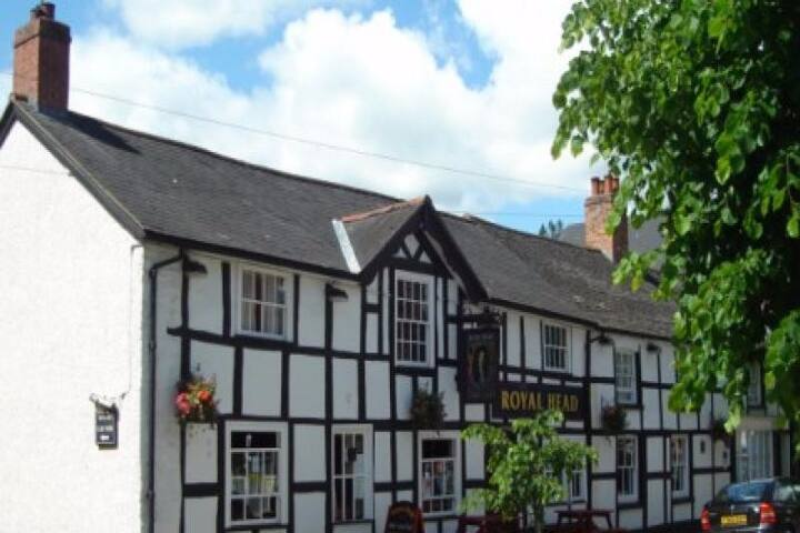 The Whistling Badger Llanidloes, room only