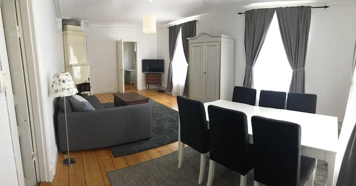 Apartment in century old house in Stockholm/Nacka.