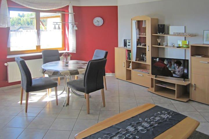 Acogedor apartamento cerca de la estación de esquí en Dreislar