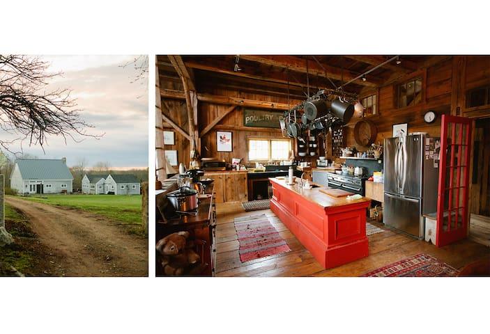 Thistledown Farm's Pennysworth - An 1800's barn.