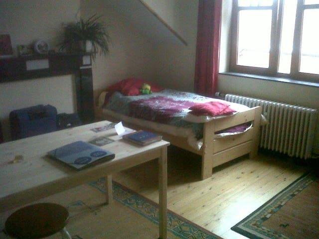 Chambre avec SDB et WC privés + kitchenette - Ans - Apartamento