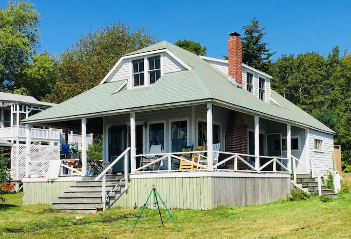 Blue Skies  Oceanfront Cottage