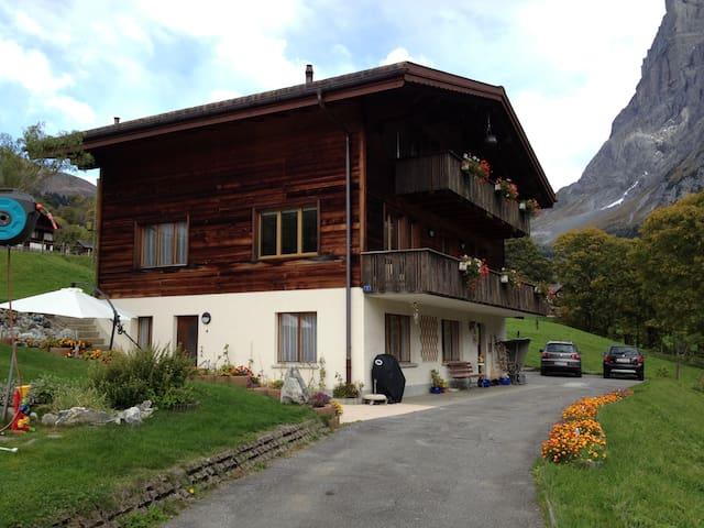 2 Zimmerwohnung, schöne Bergsicht - Grindelwald