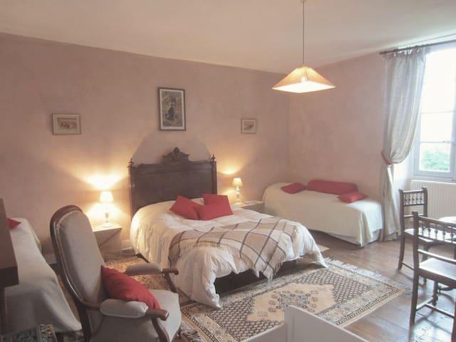 Domaine de Puytirel, Magnolia - Champagne-et-Fontaine - Bed & Breakfast