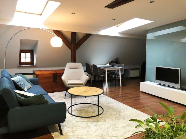 Large modern loft in great location