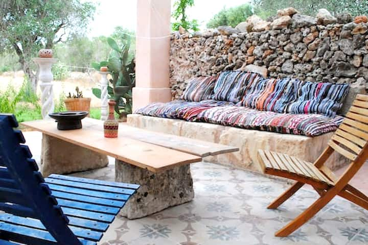 Villa with 2 bedrooms in Otranto, with private pool, enclosed garden and WiFi