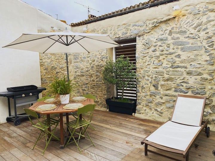 Elégante maison : à 5 min de Carcassonne